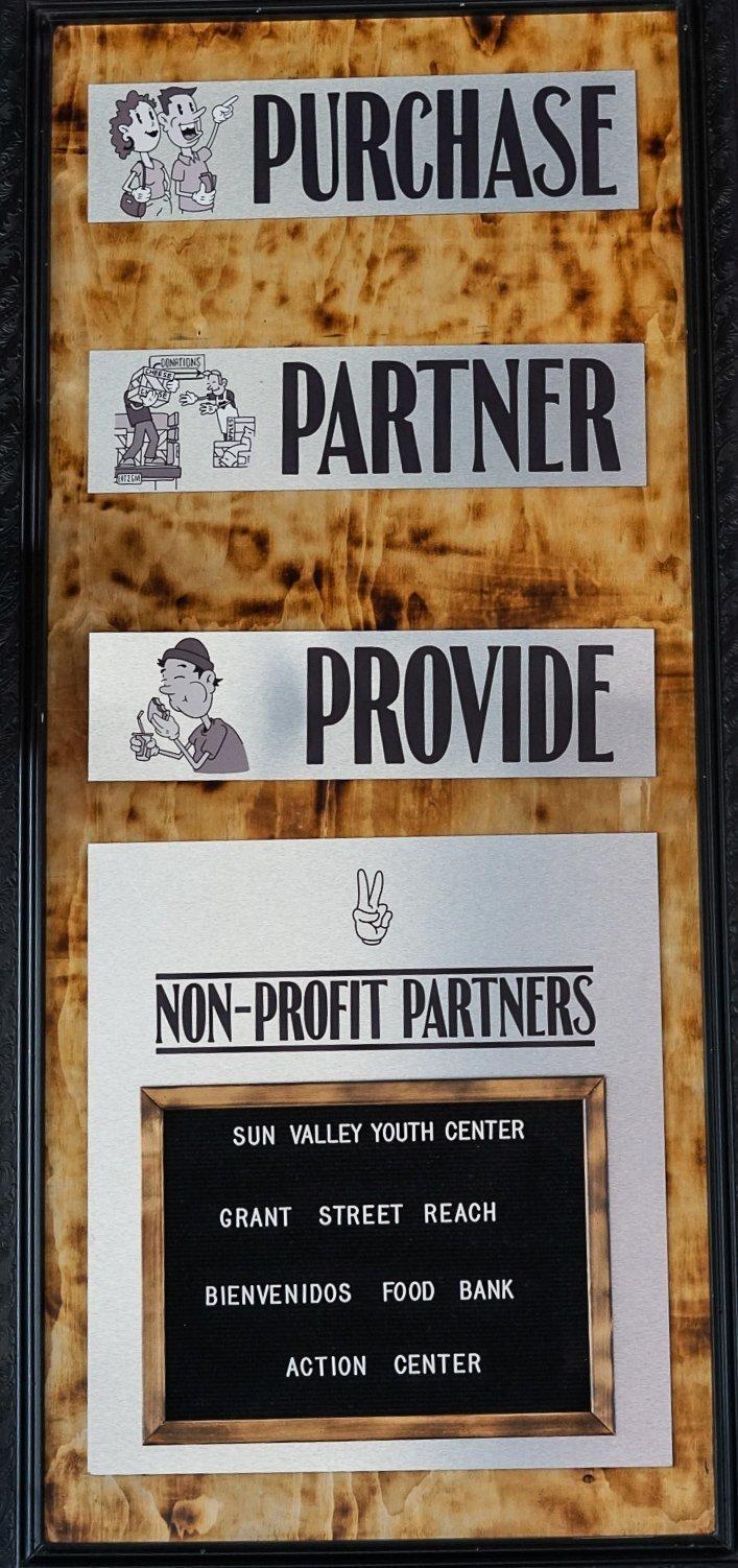 Even Stevens Non Profit Partners!