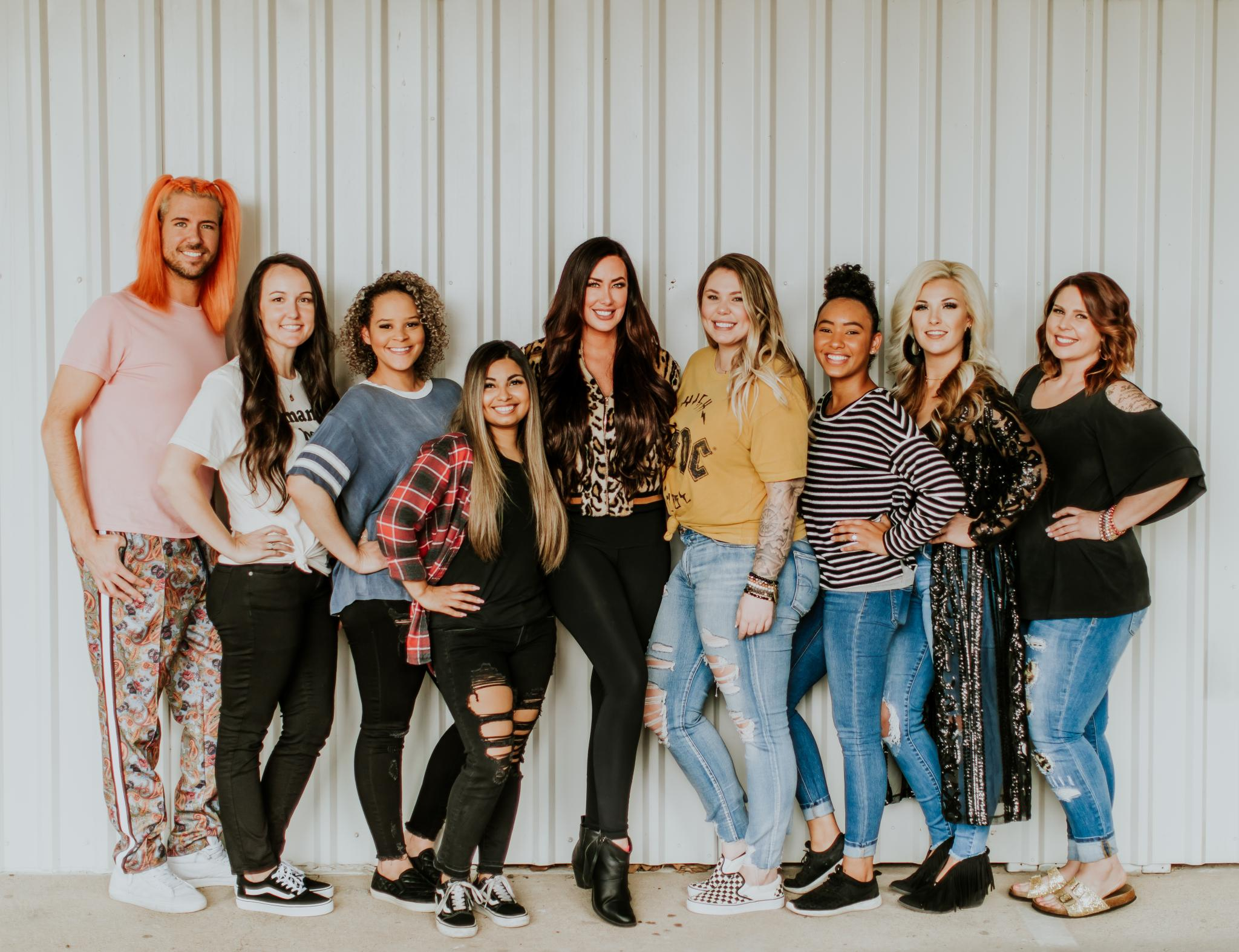 Pothead Hair Care's Hair Models - Picture by Ciarra C. Photography