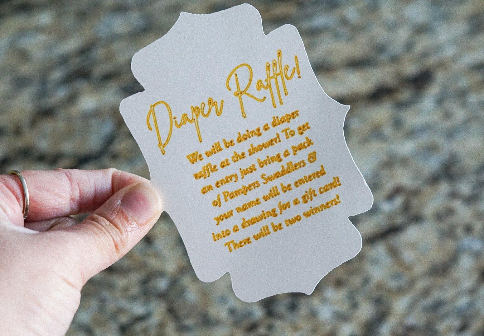 Diaper Raffle - Simply Madisynn