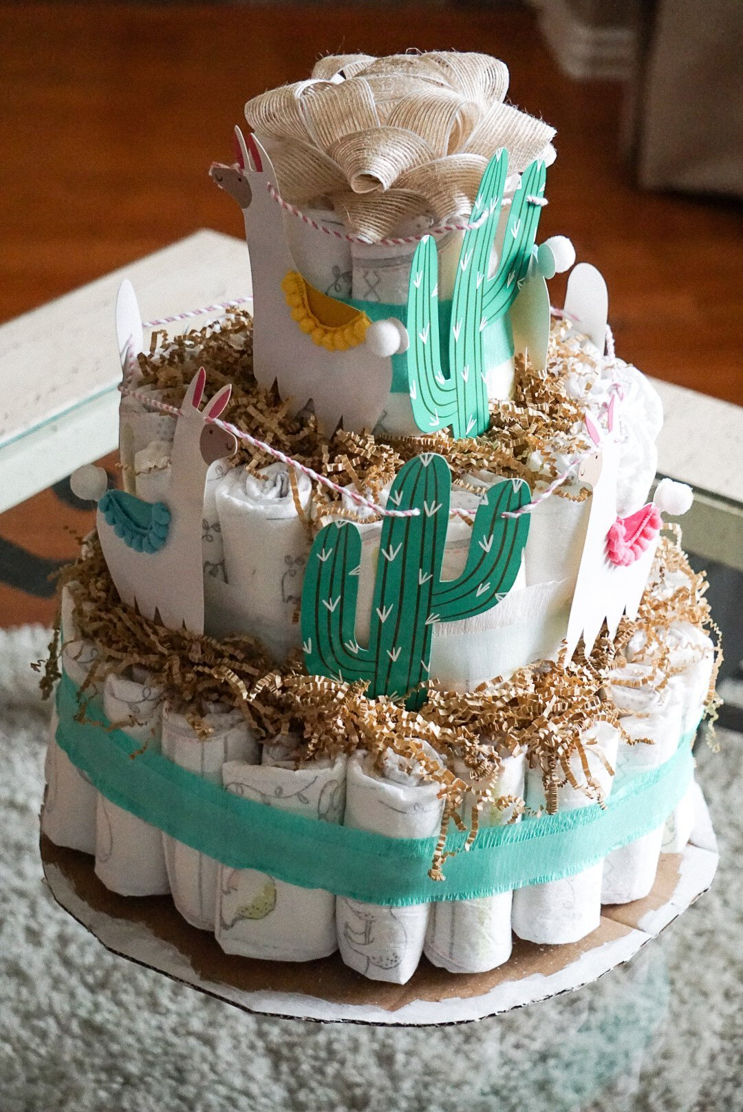 Diaper Cake - Simply Madisynn