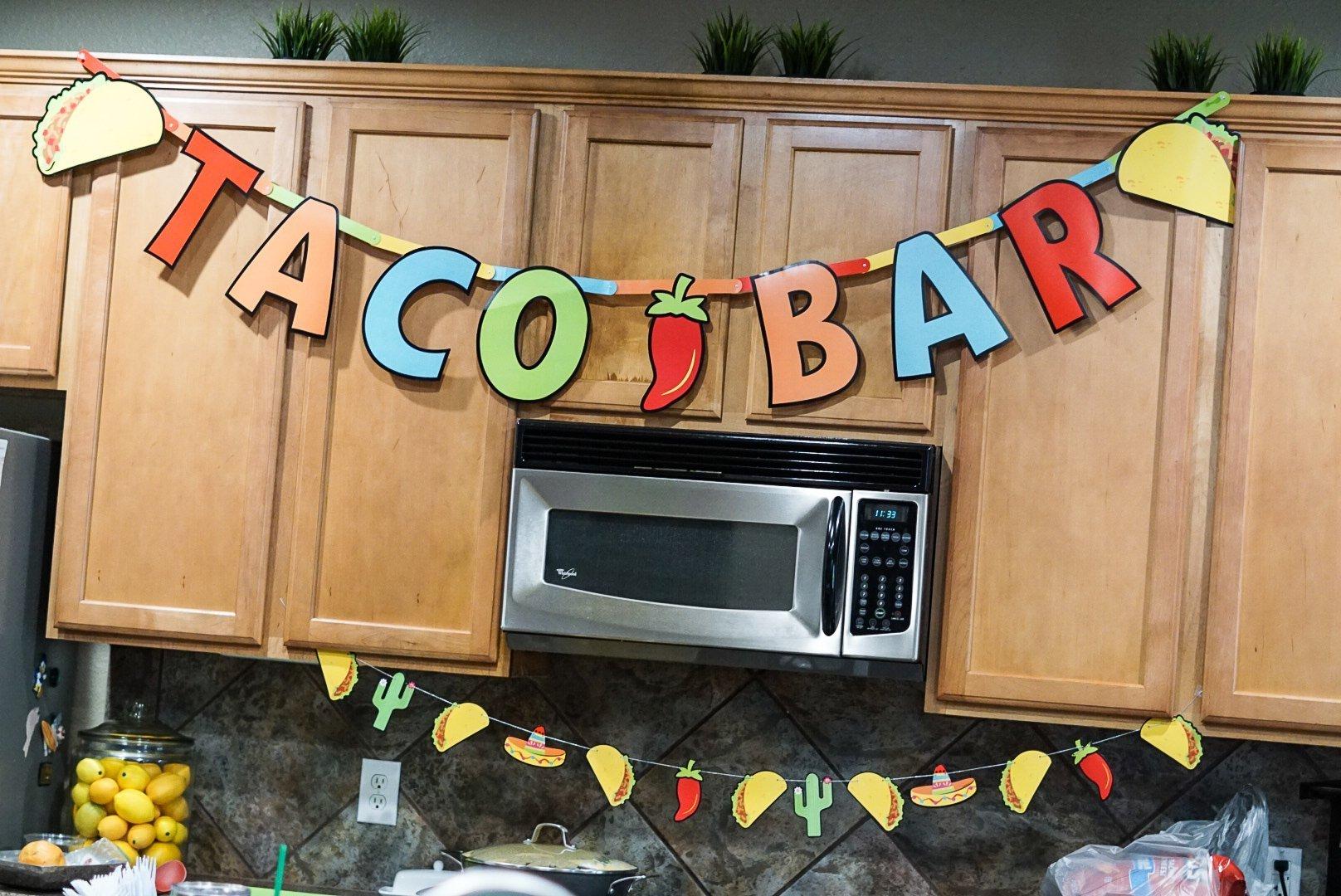 Taco Bar Banner - Simply Madisynn