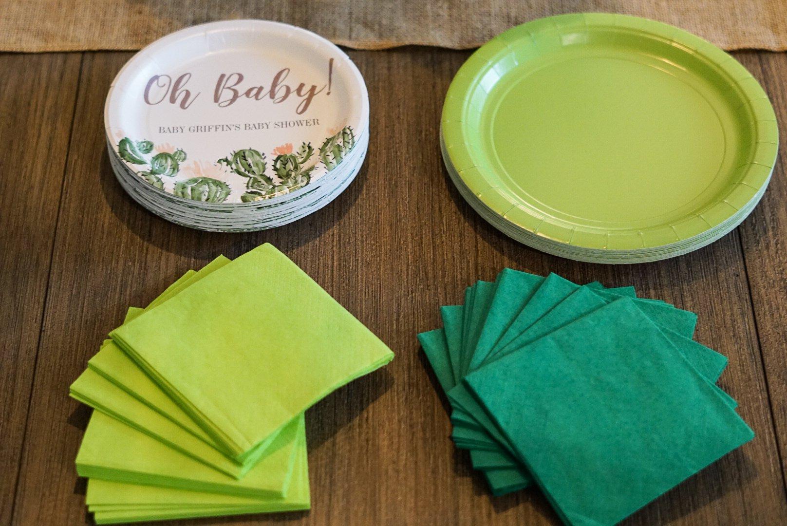 Plates and Napkins - Simply Madisynn