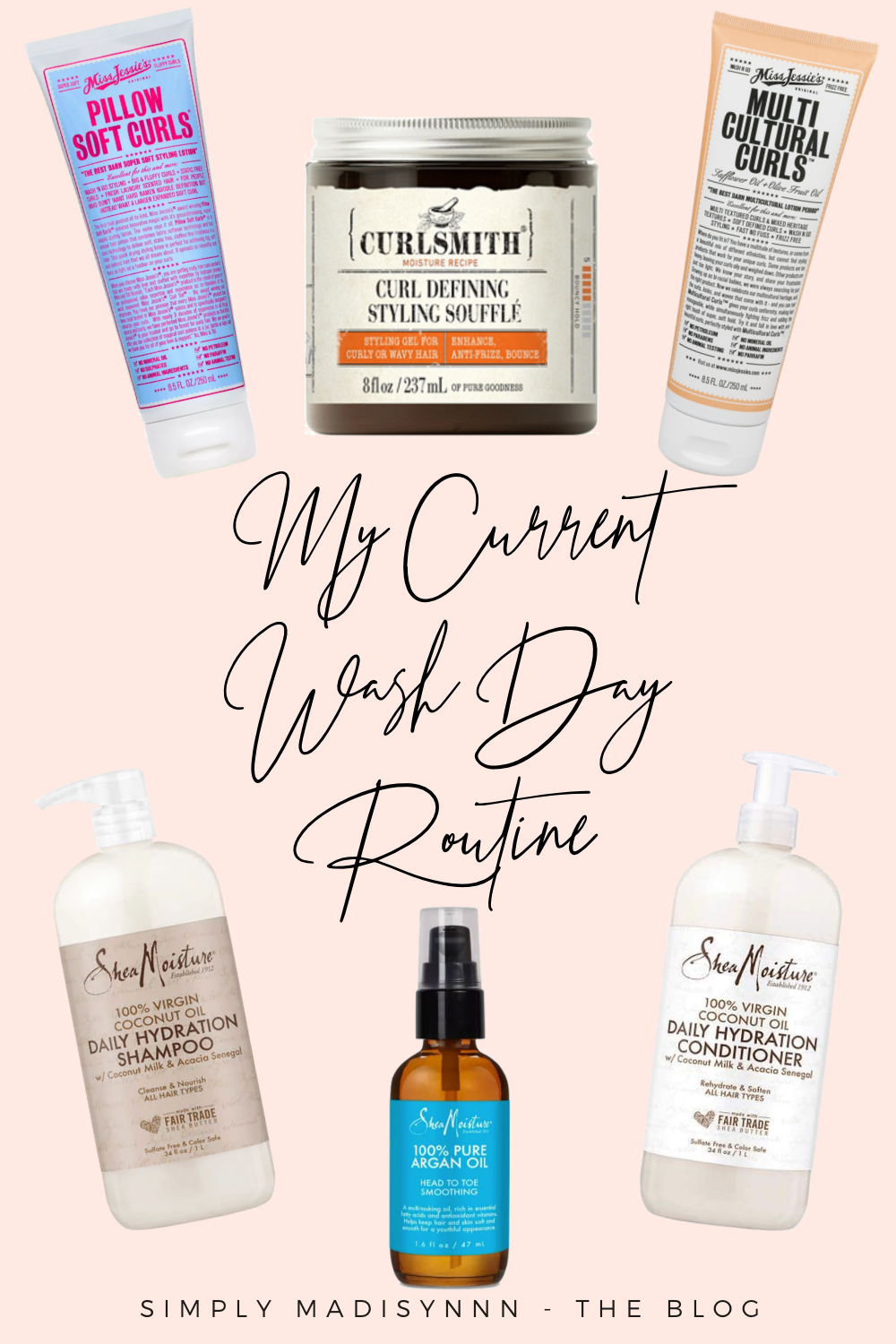 Wash Day Favorites for Curly Hair!